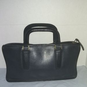 Vintage COACH 6616 NYC Navy Blue Satchel